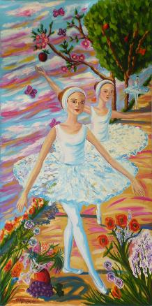 Bailarinas en Blanco