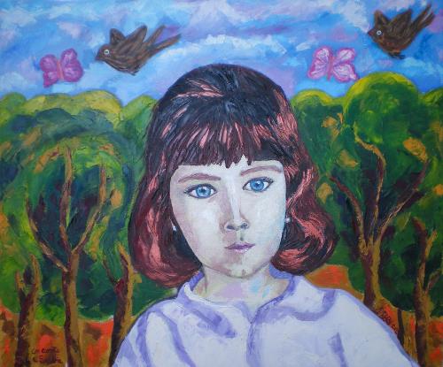 Retrato de Sandra