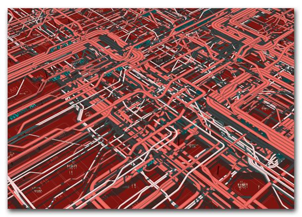 TOKYO GIM  Excesses Series Year 2011 945x650mm Digital Illus