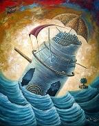 Mare Nostrum.Oleo sobre lienzo.60x40 pulgadas. 2011