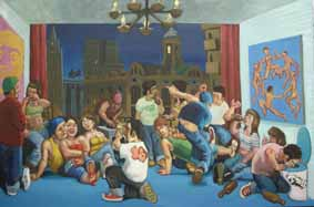 Eternal Loft 2008óleolienzo 130 x 195