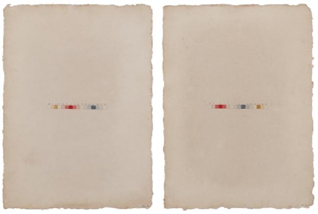 T.Haenke I, 2011. acuarela sobre papel. 30x50cm.
