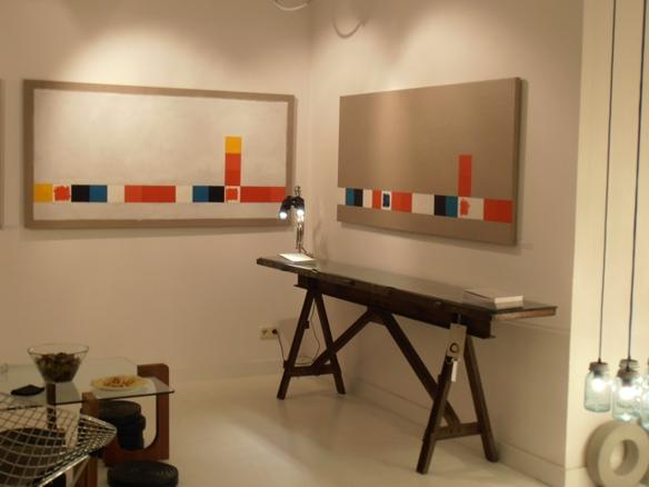 antes de la intemperie, 2011. Öleo sobre lino. 90x180cm.