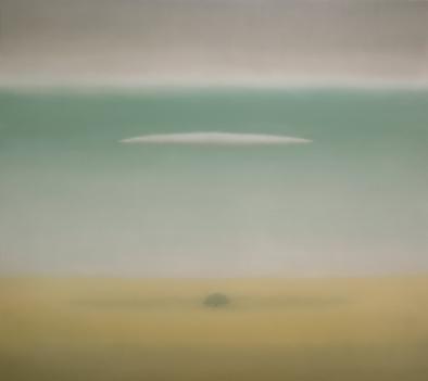Encina y nubes_200x180 cm.