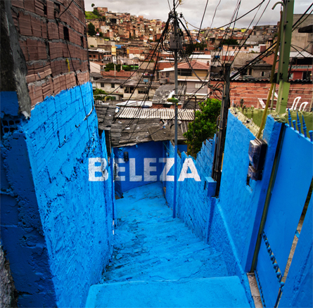 Beleza, proyecto Luz Nas Vielas. Sao Paulo, Brasil