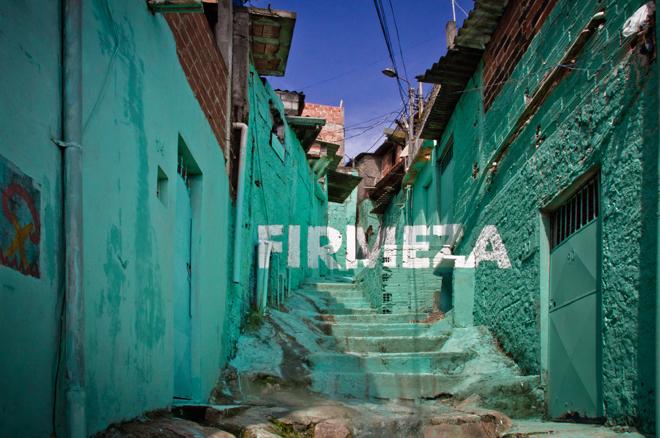 Firmeza, proyecto Luz Nas Vielas. Sao Paulo, Brasil
