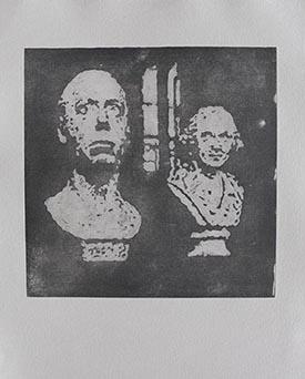 Memento Mori. Aguatinta. 50x50 cm.