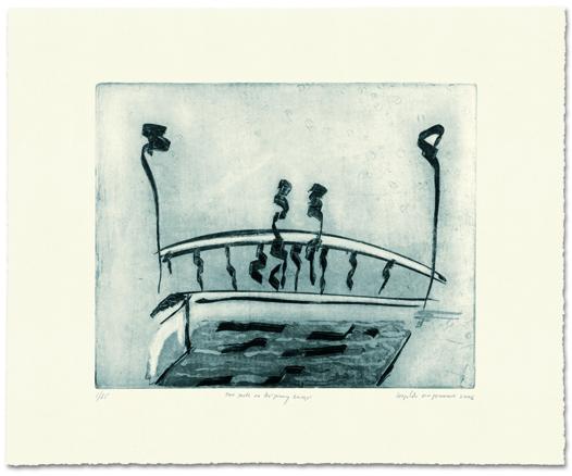 Two poets on Ha´penny Bridge