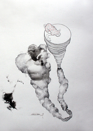 En el deseo 2, técnica mixta. 2013