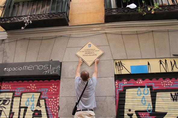 Plaza Solución. Intervención urbana. 2011