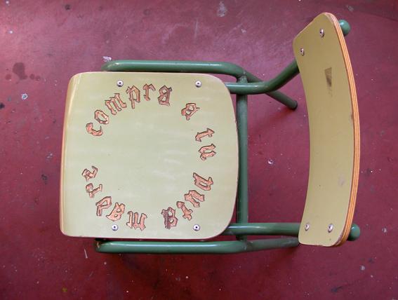 Garantia social. silla grabada. 2008