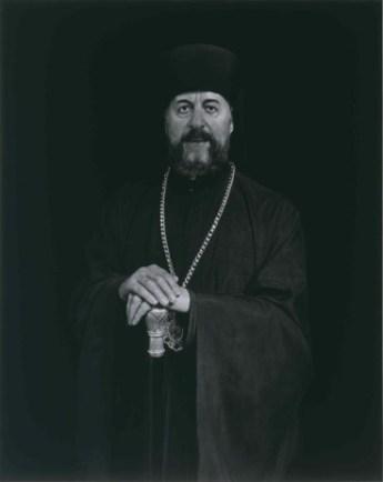 Archibishop Makarios, 1999. Fotografía emulsión de gelatina de plata, 149x119 cm