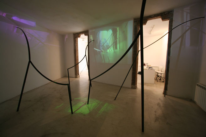 Arquitectura Latente en Galeria Travesia Cuatro
