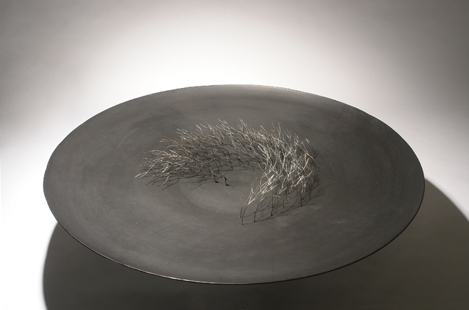 Bosquecillo - hierro, latón, bronce - 2007