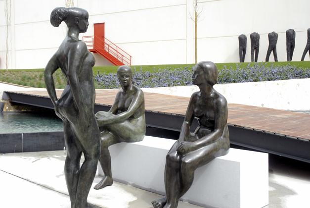 Grupo Conversación. Museo Wurth La Rioja. 2008.