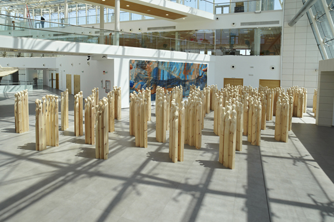 Laberinto. 2009. Museo Würth La Rioja.
