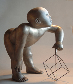 Piccolo Geometra. Bronce.2003.