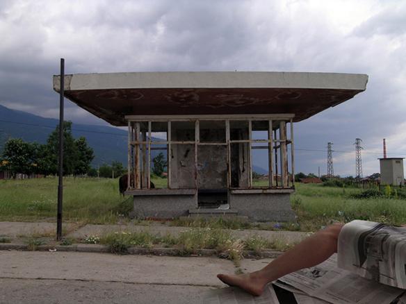 parada de autobús I. 2005