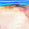 Paisaje inexistente. Pintado sin pintura 2012.100x100cm