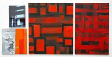 pintura rojo