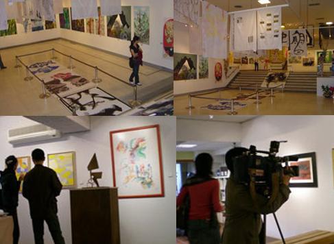 exposiciones en Taiwan y Shangai