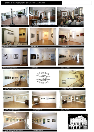 Fotografias salas Expos Societat lAmistat Cadaqués