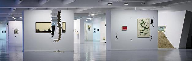 Exposición Jorge Perianes. Los animales se equivocan. 2009. Museo de Arte Contem