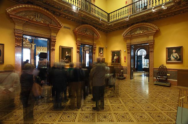 Antiguo salón de baile del Museo Lázaro Galdiano