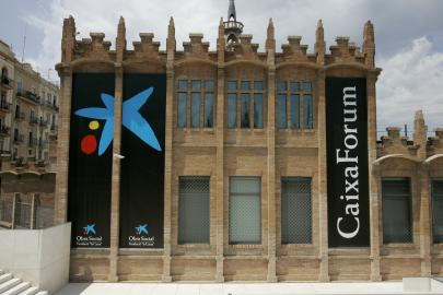 CaixaForum Barcelona. Fahada