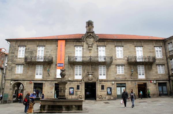Pazo de Bendaña, sede de la Fundación Eugenio Granell