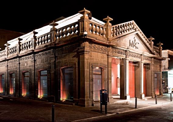 Fachada Museo de Arte Contemporáneo de San Luis Potosí