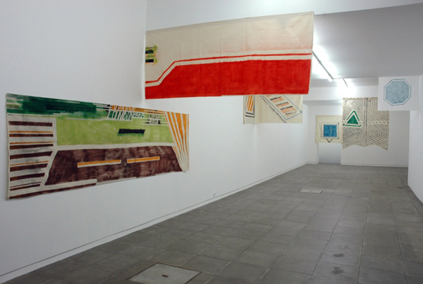 Carla Filipe Installation view at Galeria Nuno Centeno