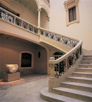Escalinatas del Museu Fundación Juan March