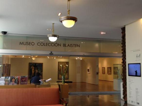 Hall de entrada a la Colección Blastein