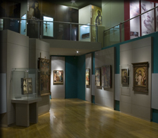 Interior del Museo Arocena
