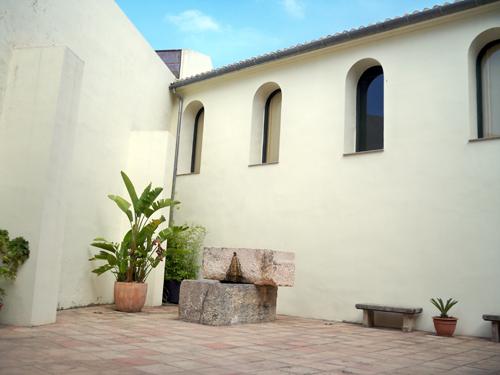 Patio Antiguo Hospital de San Marcos, actual MAGa