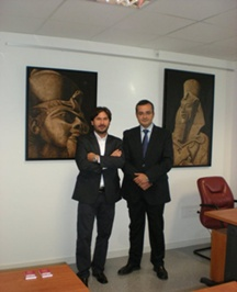 Santiago Bermúdez y Ángel Giró Co-Fundadores de BYGART