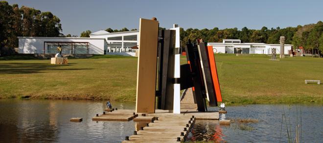 Fundación Pablo Atchugarry - Vista del Parque de Esculturas