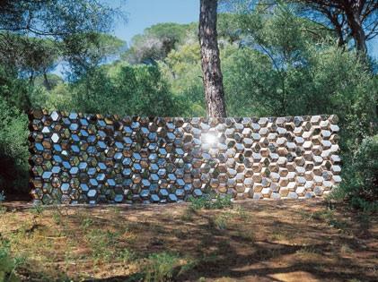 Olafur Eliasson - Quasi Brick Wall. Foto G. Hermans