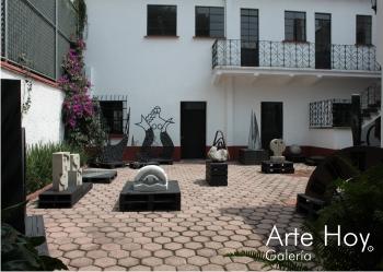 Arte Hoy Galería - Patio de escultura