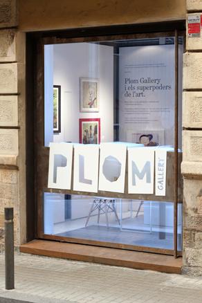 PLOM Gallery, entrada