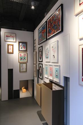 PLOM Gallery, exposición