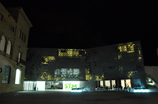 El Museo San Telmo de noche