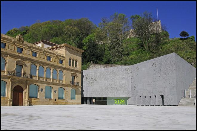 La parte exterior del museo