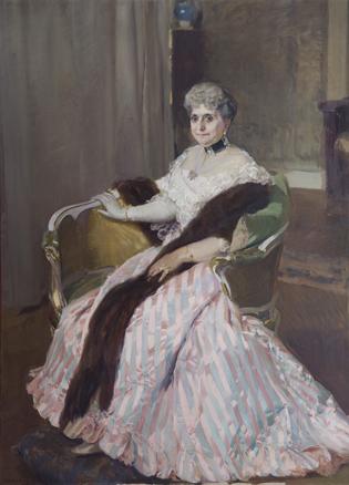 Joaquín Sorolla - Retrato de la Condesa de Albox