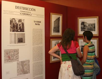 Exposición Crónicas de Retaguardia. Sala Ángel de la Hoz CDIS