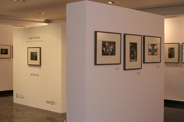 Exposición de Inge Morath en la Sala Ángel de la Hoz CDIS