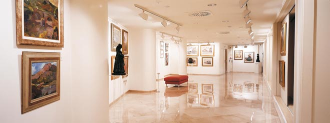 Segunda planta, Exposición permanente