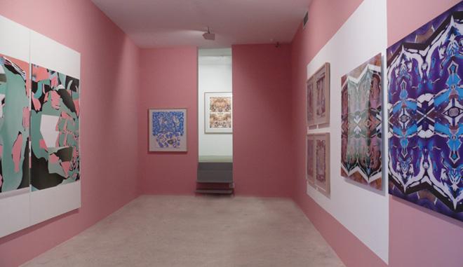 Exposición de Luis Gordillo en la Galería Maior de Palma, 2007