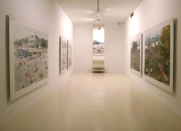 Exposición de Massimo Vitali en la Galería Maior de Palma, 2010